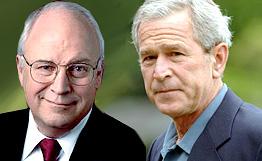 Bush Cheney 2 Satanisten Verbrecher