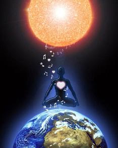 Licht Erde Mensch