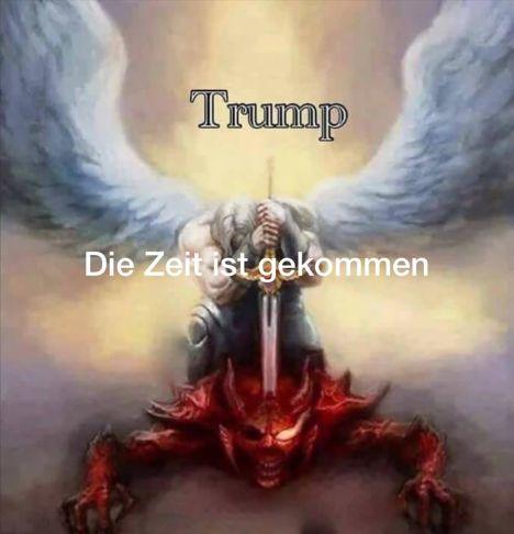 trump und satan
